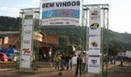 Saltinho - Entrada da FAPSAL Do Municipio de Saltinho-SC, Por Julia Magri