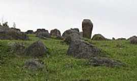 Sangão - Pedras no interior de Sangão-Foto:----BARBARA BIANCO--…