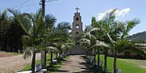 Capela de N.Sra.do Carmo na Vila Bitencourt em Santa Rosa do Sul-SC-Foto:José Carminatti