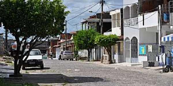 Nova Brasília-BA-Rua de Nova Brasília,distrito de Candeias-Foto:Jorge Marcos Santos Nascimento