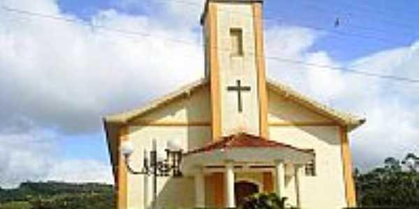Igreja de Santa Rita em Santo Amaro da Imperatriz-Foto:Miguel Arcanjo Sousa