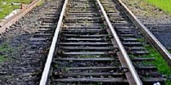 São Bento do Sul-SC-Trilhos da Ferrovia-Foto:Edson A Hardt
