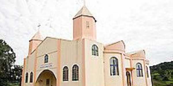 São Bernardino-SC-Igreja de São Bernardino-Foto:ricardoribas.