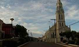 São Carlos - Igreja Matriz de São Carlos-SC-Foto:Paulo Pilenghy