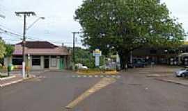 São Carlos - Rua do Comércio em São Carlos-SC-Foto:Paulo Pilenghy