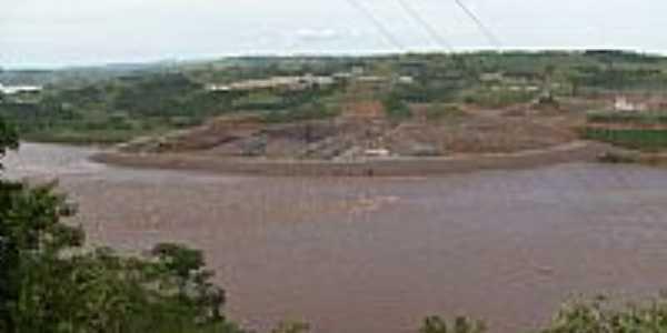 Foz do Rio Chapecó em São Carlos-SC-Foto:Paulo Pilenghy