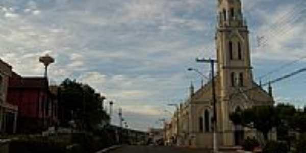 Igreja Matriz de São Carlos-SC-Foto:Paulo Pilenghy