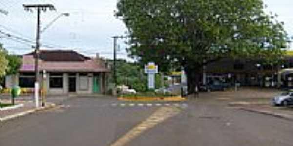 Rua do Comércio em São Carlos-SC-Foto:Paulo Pilenghy