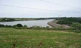 São Domingos - Vista parcial do Lago da Usina de São Domingos-Foto:grigolo