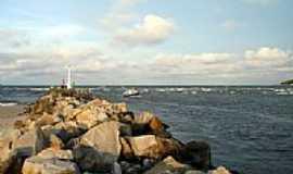 São Francisco do Sul - Barra do Canal do Linguado-Foto:BEDENE