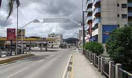 São João Batista - São João Batista-SC-Avenida Principal no centro-Foto:José Carminatti