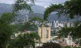 São João Batista - São João Batista-SC-Vista parcial do centro-Foto:José Carminatti
