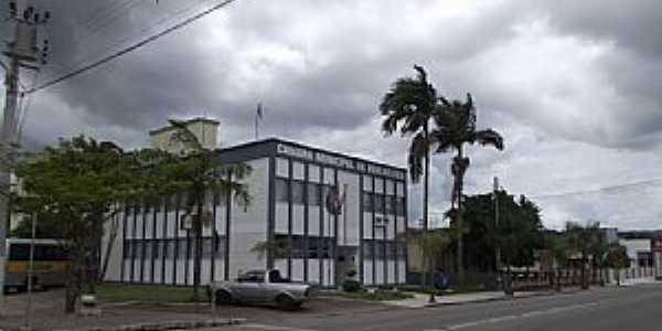 São João Batista-SC-Câmara Municipal-Foto:José Carminatti