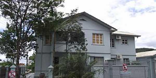 São João Batista-SC-Casa Paroquial-Foto:José Carminatti