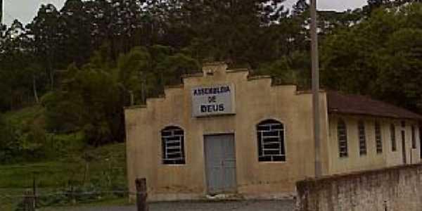 S�o Jo�o do Itaperi�-SC-Igreja da Assembl�ia de Deus-Foto:jaime de souza