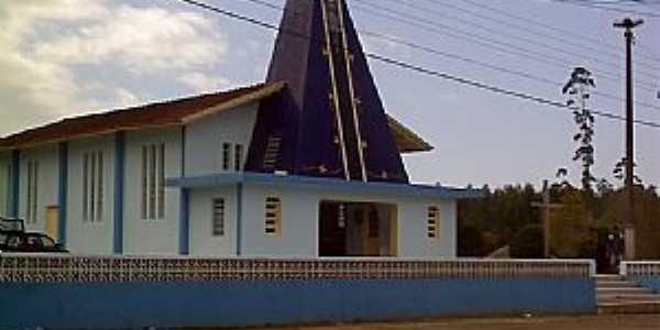 São João do Itaperiú-SC-Igreja de N.Sra.Aparecida-Foto:jaime de souza
