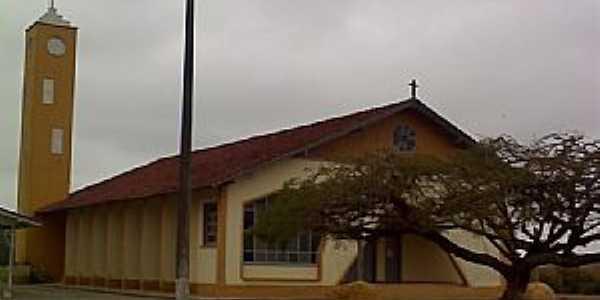 São João do Itaperiú-SC-Igreja de Santa Luzia-Foto:jaime de souza