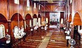 São João do Oeste - Interior da Igreja