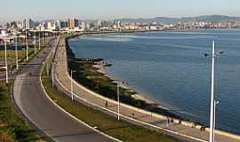 São José - São José-SC-Avenida Beira Mar-Foto:Hugo Dodl