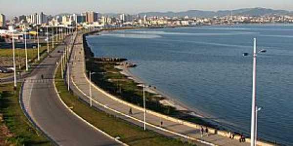 São José-SC-Avenida Beira Mar-Foto:Hugo Dodl