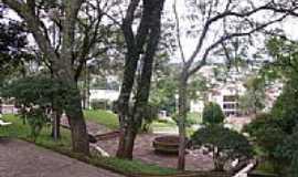 São José do Cedro - Praça no centro de São José do Cedro-SC-Foto:José Carminatti