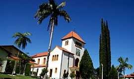 São Martinho - São Martinho-SC-Praça e a Igreja Matriz-Foto:ANTONELLO FOTOS