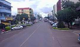 São Miguel do Oeste - Avenida central de São Miguel do Oeste-SC-Foto:THIAGO DAMBROS
