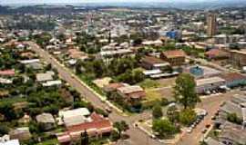 São Miguel do Oeste - Vista da área central de São Miguel do Oeste-SC-Foto:Jeanmarlon