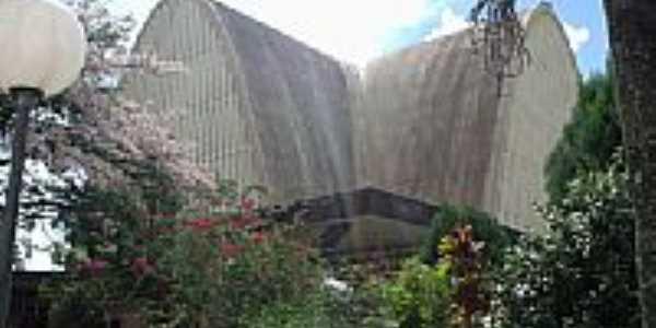 Prédio da UNOESC de São Miguel do Oeste-SC-Foto:THIAGO DAMBROS