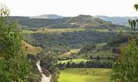 São Miguel da Boa Vista - São Miguel da Boa Vista-SC-Vista do Rio Sargento e região-Foto:Alex Carniel