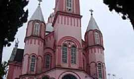 São Pedro de Alcântara - Catedral de São Pedro de Alcântara-SC-Foto:Iramar Metzker