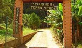 São Pedro de Alcântara - Entrada da Pousada Terra Verde em São Pedro de Alcântara-SC