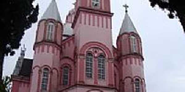 Catedral de São Pedro de Alcântara-SC-Foto:Iramar Metzker
