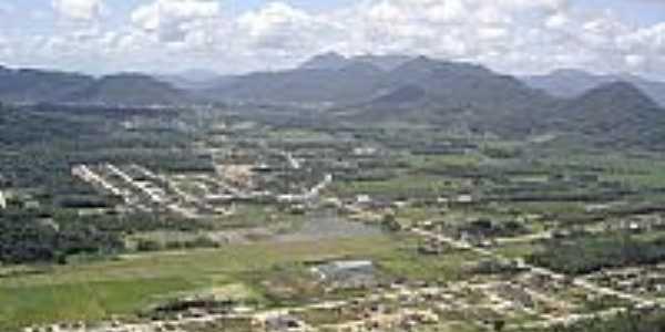 Vista aérea da cidade de Schroeder-SC-Foto:Ivanio Dalton