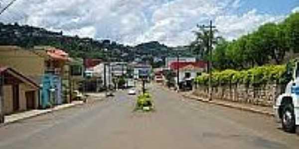 Avenida principal em Seara-Foto:turismopelobrasil.