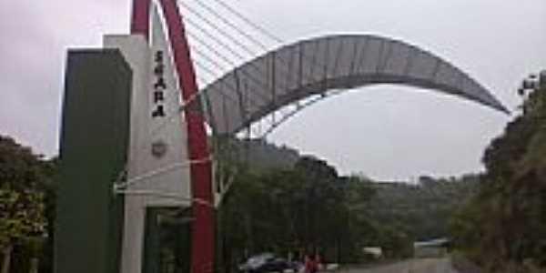 Pórtico de entrada de Seara-Foto:grigolo
