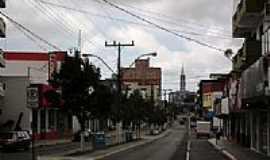Sombrio - Avenida principal de Sombrio-SC-Foto:@NÉLIO BIANCO@
