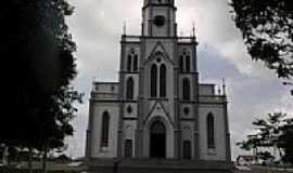Sombrio - Igreja Matriz de Santo Ant�nio de P�dua em Sombrio-SC-Foto:@N�LIO BIANCO@