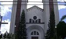 Taió - Igreja Católica em Taió-Foto:Angelo Carlos Ronchi