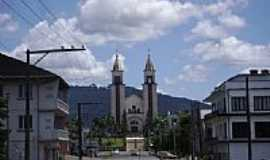 Taió - Igreja Matriz de Taió-Foto:Angelo Carlos Ronchi