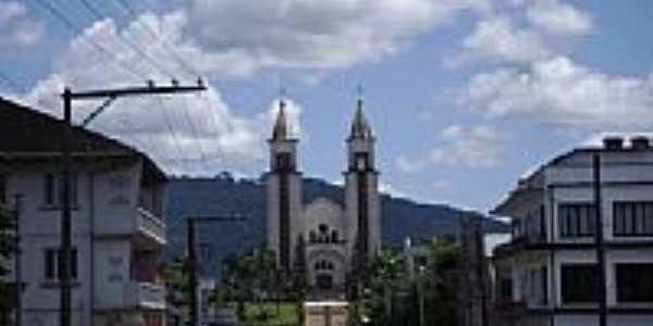Igreja Matriz de Taió-Foto:Angelo Carlos Ronchi