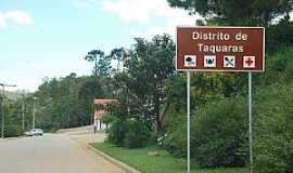 Taquaras - Taquaras-SC-Entrada do distrito-Foto:Eber Beck