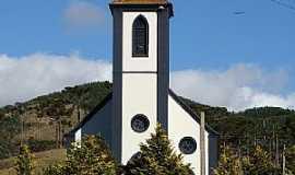 Taquaras - Taquaras-SC-Igreja de São bonifácio-Foto:Osmar Volpato