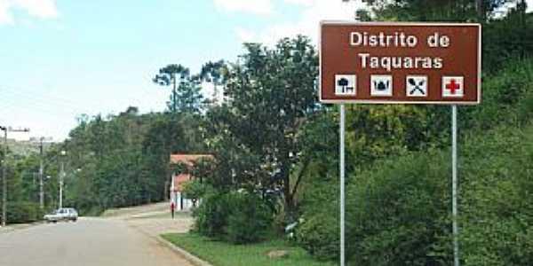 Taquaras-SC-Entrada do distrito-Foto:Eber Beck