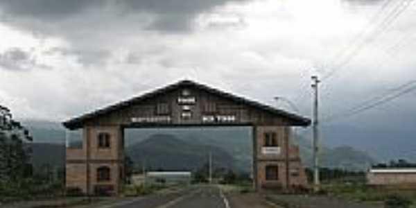 Pórtico de entrada de Timbé do Sul-SC-Foto:JucaLodetti