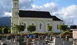 Timb� - Igreja do Sagrado Cora��o de Jesus em Timb�-Foto:Carlos C. Nasato