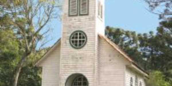 Capela Nossa Senhora de Fatima(!945), Sede da Floresta Nacional de Três Barras., Por Cléa
