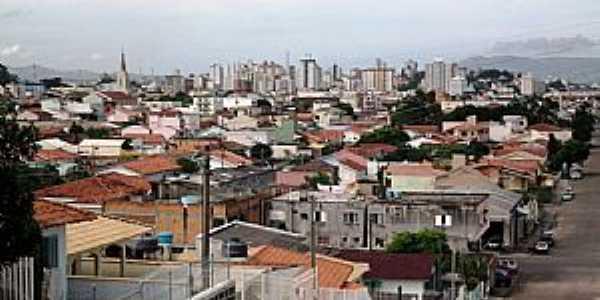 Tubarão-SC-Vista parcial da cidade-Foto:NÉLIO BIANCO