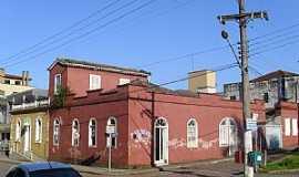 Urussanga - Urussanga-SC-Casario antigo no centro-Foto:José Carminatti