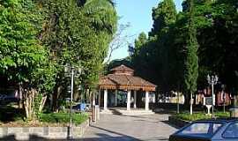 Urussanga - Urussanga-SC-Coreto na Praça Central-Foto:José Carminatti